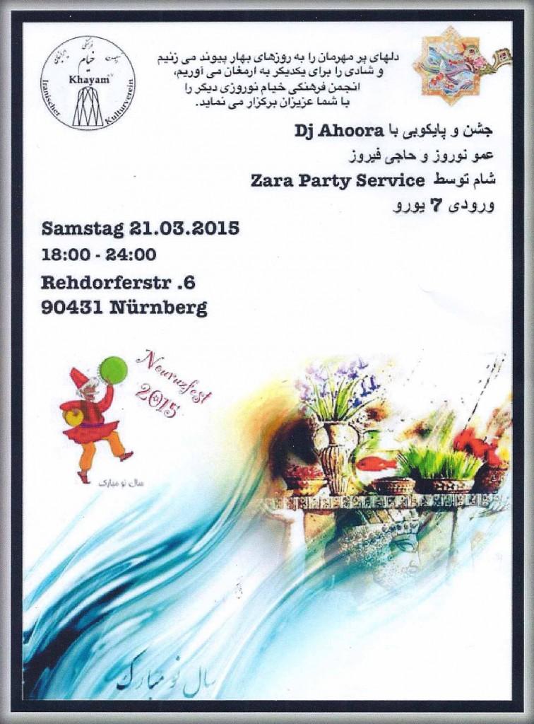 Iranisches Neujahrsfest 2015