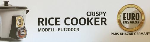 Der neue EURO PARS KHAZAR Reiskocher