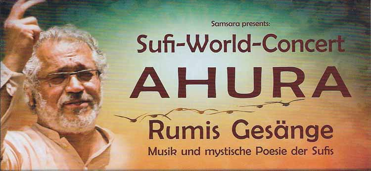 Sufi World Concert AHURA im SAMSARA in Nbg